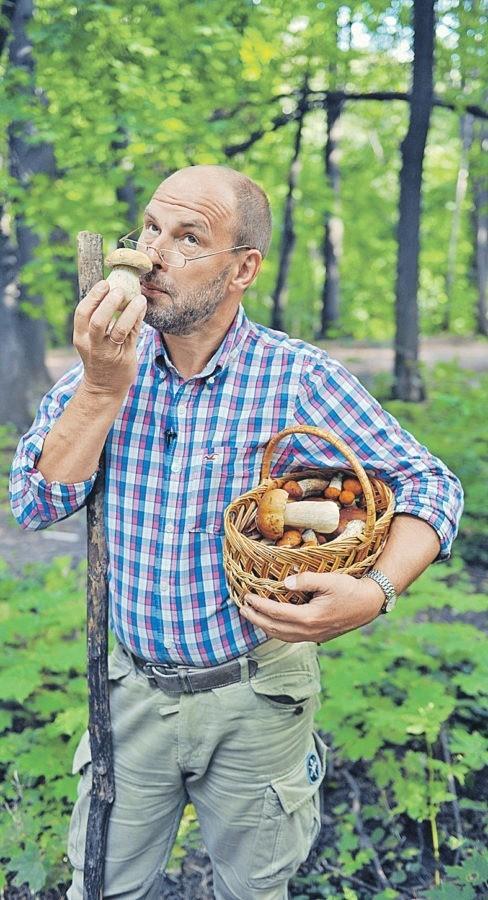 - Один грибочек беру, на второй смотрю, третий примечаю...