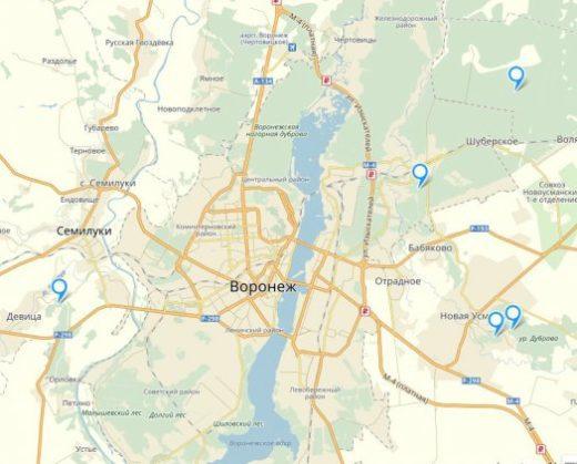 Для любителей «тихой охоты» корреспонденты «Ё!» создали карту грибных мест в пригородах Воронежа.