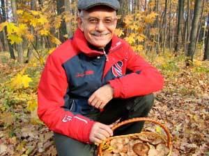 Рустэм Хамитов сходил в лес по грибы