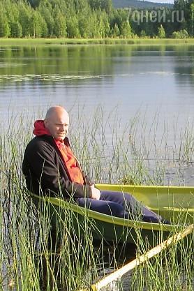 Вместе с женой и двумя младшими сыновьями Алексей Кортнев отправился в необычное путешествие по Финляндии