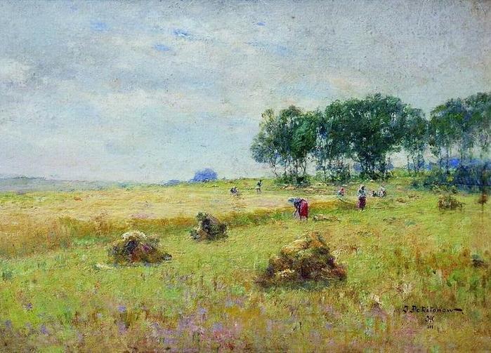 Похитонов Иван Павлович [1850 - 1923]  - Жатва