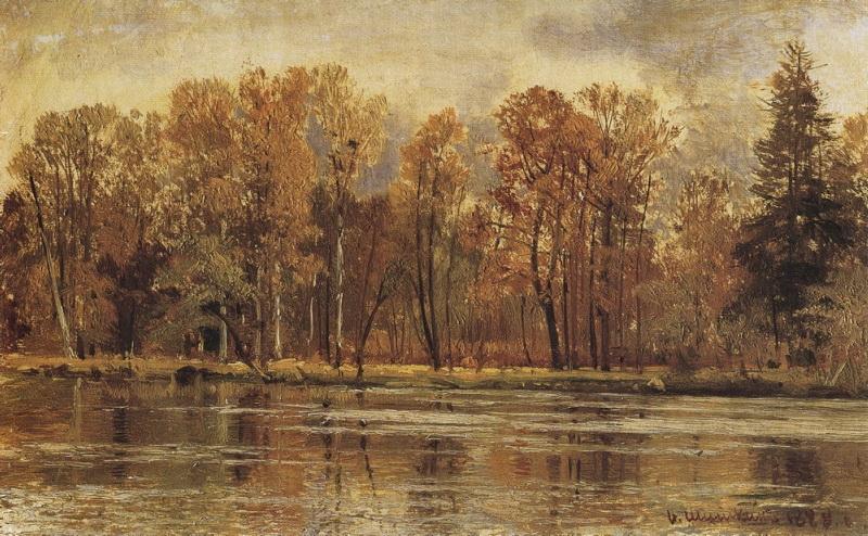 Золотая осень, 1888 год. Шишкин Иван Иванович